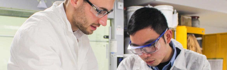 Graduate Development Programme cohort in the laboratory.