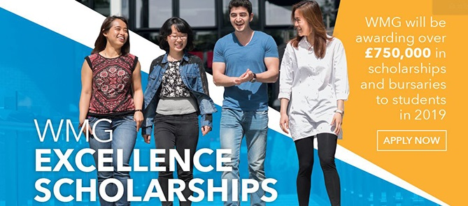 WMG Excellence Scholarships 2019 670px