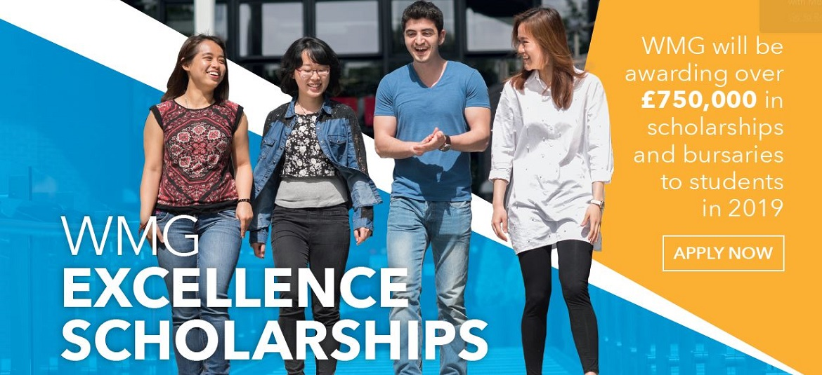 WMG Excellence Scholarships 2019