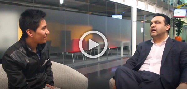 Alumni talk video