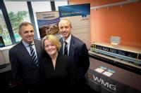 Richard Hill, Head of Sector Automotive & Manufacturing, NatWest, Alison Rose, CEO NatWest Commercial and Private Banking and Archie MacPherson