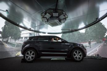 3XD Intelligent Vehicles Simulator at WMG.