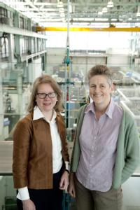 Professor Barbara Shollock and Professor Claire Davis
