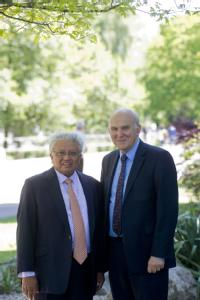 Professor Lord Bhattacharyya and Dr Vince Cable