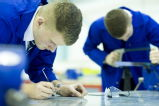 Students at the WMG Academy for Young Engineers Coventry