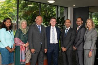 New Malaysian High Commissioner visits WMG