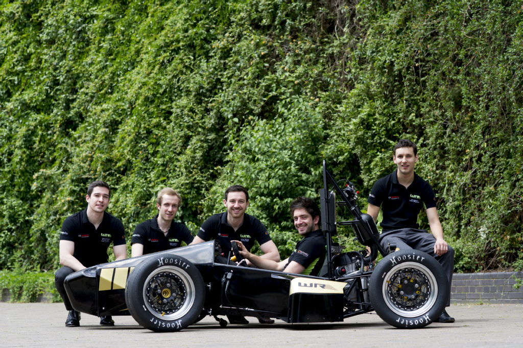 Engineering students from the university of warwick are gearing up
