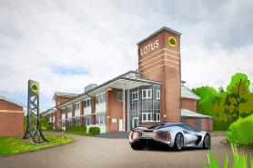 Artist's impression of the advanced technology centre when established