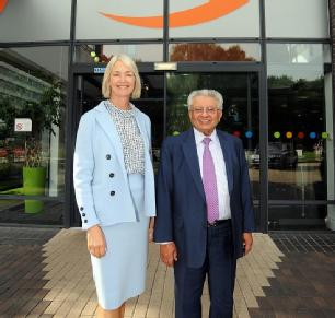 Picture of Margot James and Professor Lord Bhattacharyya