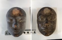 Image of 3D printing the death mask