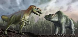 Attached is an artist's impression of how Victorian palaeontologists thought the Megalosaurus looked (right), compared with how we now understand it to have looked (left). Credit University of Warwick/Mark Garlick.