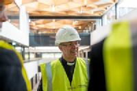 Rt Hon Justin Welby tours the National Automotive Innovation Centre
