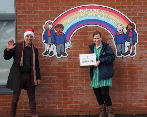 WMG delivers STEM parcel to Arley Primary School