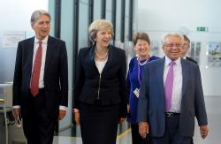 Prime Minister and Chancellor at WMG, September 2016