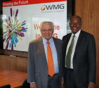 Professor Lord Bhattacharyya and Dr Reuel Khoza
