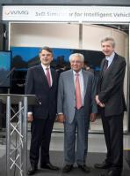 Professor Dr Ralf Speth, Professor Lord Bhattacharyya and Professor Paul Jennings