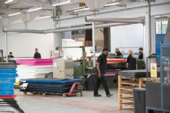 The workshop of the Ramfoam facility. Credit: WMCA.