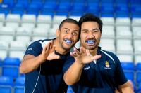 Nile Dacres and Waitu Setu from Coventry RFC