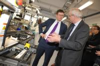 Greg Clark visits the Energy Innovation Centre