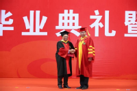 Professor Lord Bhattacharyya receives honorary degree from USTB President Zhang Xinxin