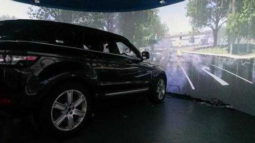 The WMG 3xD simulator, used to test the LiDAR sensors