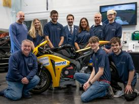 Warwick Moto Team (picture taken before the pandemic)