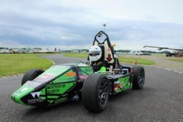 Warwick Racing Car