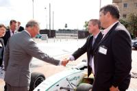 HRH The Prince of Wales meets Dr Kerry Kirwan and Dr Steve Maggs