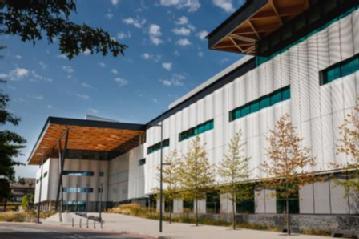 Exterior Shot of the Professor Lord Bhattacharyya Building at WMG, University of Warwick