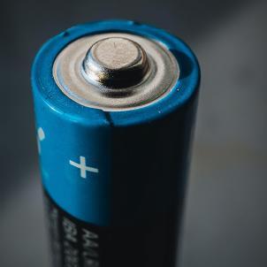 Battery - Close-up shot.