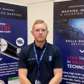 Jordan Albutt - Applied Engineering Programme degree apprentice (with Rolls-Royce)