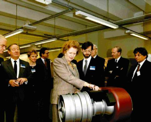 Margaret Thatcher - Former Prime Minister of the United Kingdom