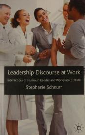 leadership discourse at work schnurr stephanie dr