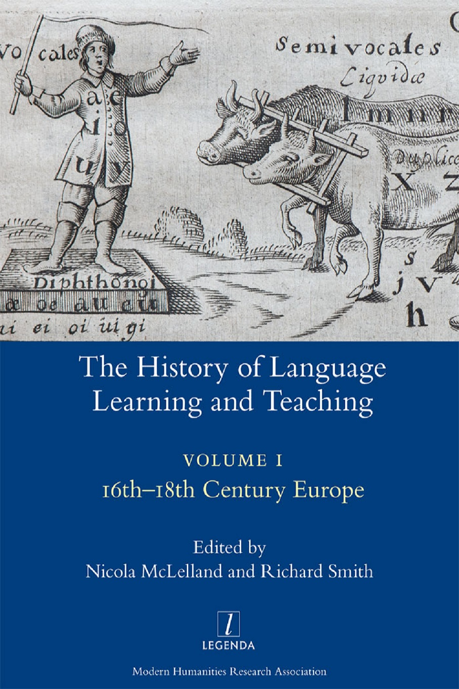 The History of Language Learning and Teaching Book Cover