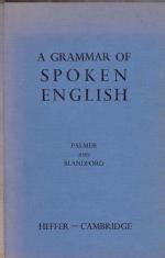 A Grammar of Spoken English
