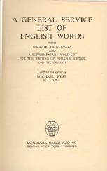 A General Service List of English Words
