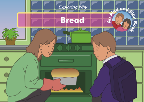 Bread story book image