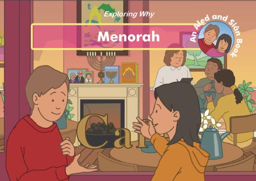 exploring why menorah story book