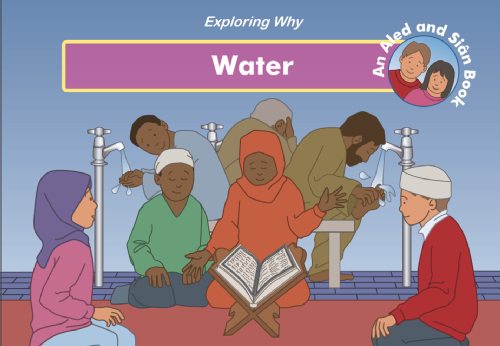 exploring why water story book