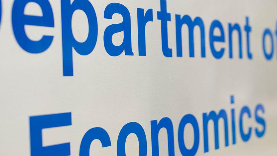 Economics university subjects list uk