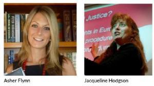 Asher Flynn and Jacqueline Hodgson