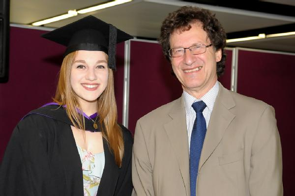 Best Performance in LLB Law with French Law degree: Lara Epsley