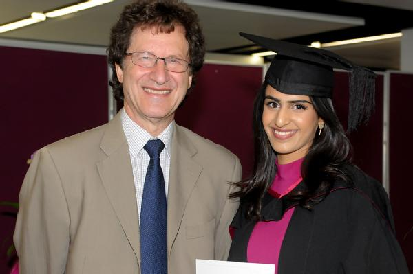 Best Performance in Law and Sociology BA degree: Maaya Sachdev