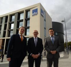 Dr Stephen Connelly, MP Matt Western and Dr Andreas Kokkinis