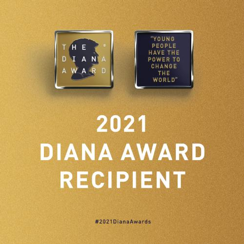 Graphic of Diana Award