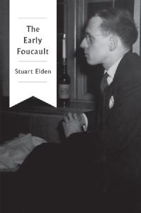 The Early Foucault by Stuart Elden, front cover