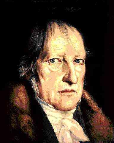 """Georg Wilhelm Friedrich Hegel (1770-1830), der Erfinder des """"Weltgeists"""""""