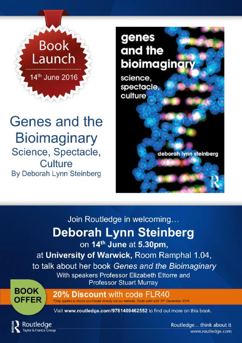 Genes and the Bioimaginary poster