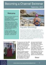 Becoming a Channel Swimming magazine