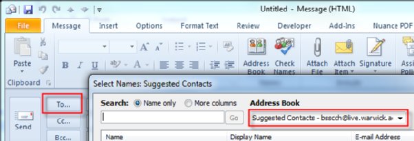 how to find duplicates in my soc contact list